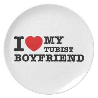 Tubistのボーイフレンドのデザイン プレート