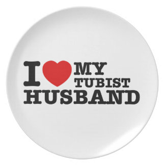 Tubistの夫のデザイン プレート