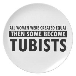 Tubist音楽デザイン プレート