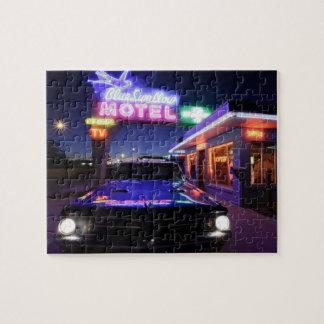 Tucumcari、ニューメキシコ、米国。 ルート66 ジグソーパズル