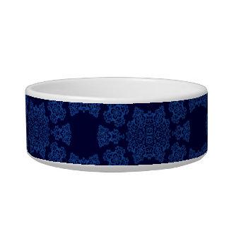 Tudorのばら色のダマスク織(青い) ボウル