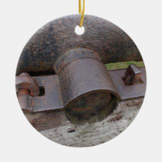 Tudorの大砲の詳細 セラミックオーナメント