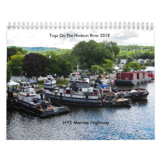 Tugs On The Hudson River 2018-NYS Marine Highway カレンダー