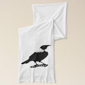 Tui |ニュージーランドの先住民の鳥 スカーフ