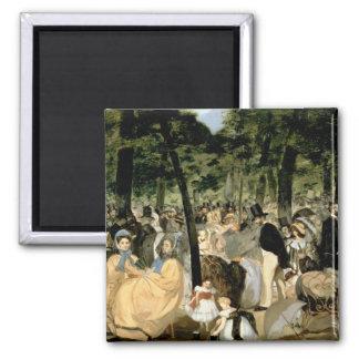 Tuileriesの庭のManet |音楽、1862年 マグネット