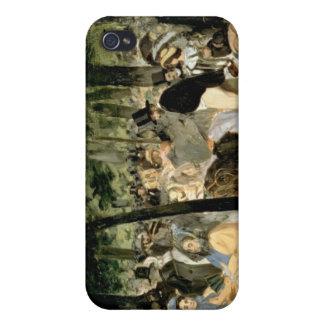 Tuileriesの庭のManet |音楽、1862年 iPhone 4 Cover
