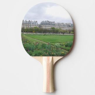 Tuileriesの庭、パリフランス 卓球ラケット