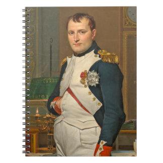 Tuileriesの彼の勉強の皇帝ナポレオン ノートブック