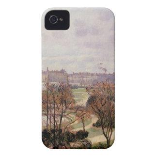 Tuileriesの眺め、カミーユ・ピサロ著朝 Case-Mate iPhone 4 ケース