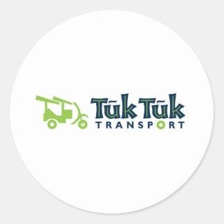 Tuk Tukの輸送 ラウンドシール