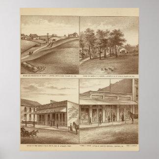 Tulare Co牧場、オフィス ポスター