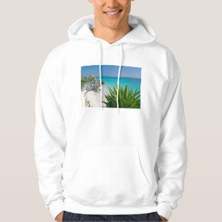 Tulumのビーチのマヤの台なし パーカ