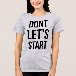 TumblrのTシャツは始まろう Tシャツ