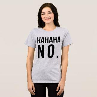 TumblrのTシャツHahaha Tシャツ