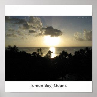 Tumon湾、グアム ポスター