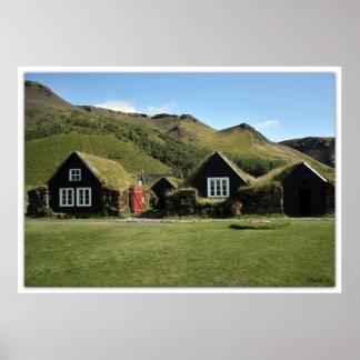 turfhouses ポスター