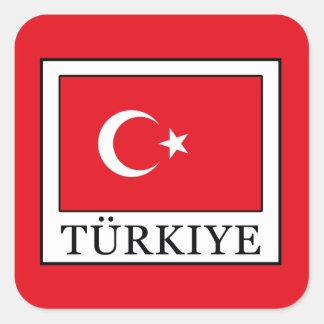 Türkiye スクエアシール