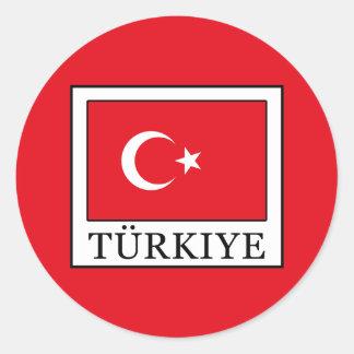 Türkiye ラウンドシール