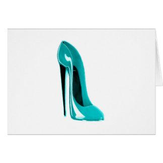 Turqoiseの小剣の靴 カード