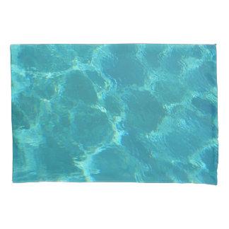 Turquoise Blue Water Pillowcase 枕カバー