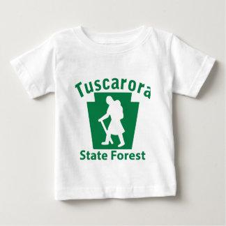 Tuscarora SFのハイキングの(女性) -幼児Tシャツ ベビーTシャツ