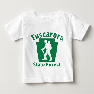 Tuscarora SFのハイキング(男性) -幼児Tシャツ ベビーTシャツ