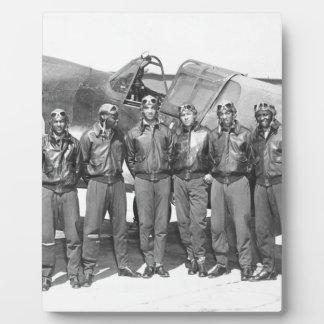 tuskegeeのパイロット フォトプラーク