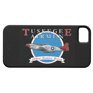 TuskegeeのパイロットP-51Dの赤の尾 iPhone SE/5/5s ケース