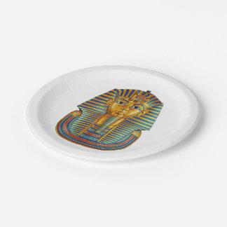 Tut王7インチの紙皿 ペーパープレート