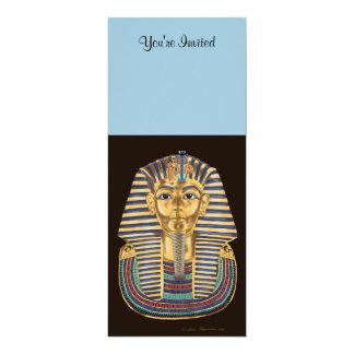 Tutankhamonの金マスク カード