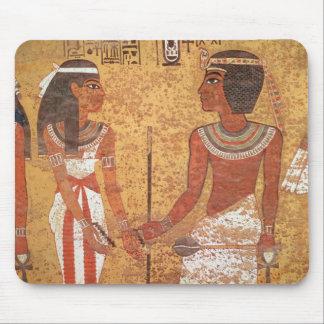 Tutankhamunおよび彼の妻、Ankhesenamun マウスパッド