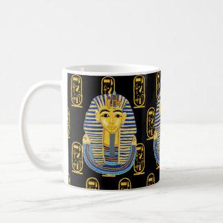Tutankhamunのマスク コーヒーマグカップ