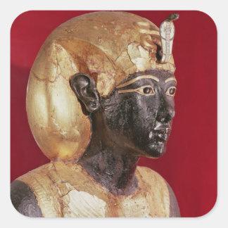 Tutankhamunの実物大の彫像 スクエアシール