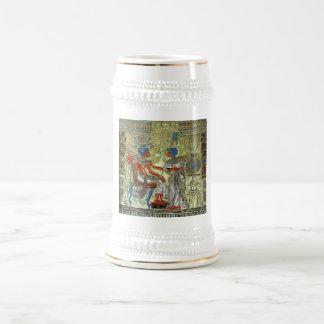 Tutankhamunの王位 ビールジョッキ