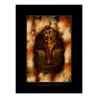 TUTANKHAMUNの視野のエジプトの芸術ポスター ポスター