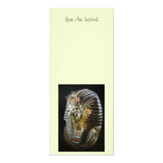 Tutankhamunの金マスク カード