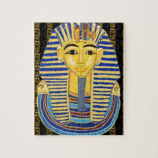 Tutankhamunの金マスク ジグソーパズル