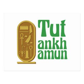 Tutankhamun ポストカード