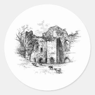 Tutburyの城 ラウンドシール