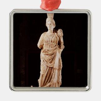 tutelary女神の彫像 メタルオーナメント