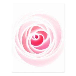 Tutti著作成されるデジタルばら色の花 ポストカード