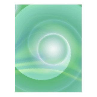 Tutti著作成される黙想の薄緑 ポストカード