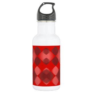 Tutti著設計されているパターン赤第2 ウォーターボトル