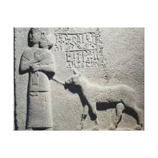 Tuwarissaの王のAraras妻女王 キャンバスプリント