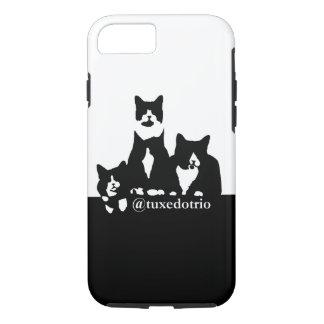 TuxedoTrioの携帯電話の箱 iPhone 8/7ケース