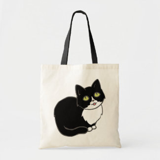 Tuxieのタキシード猫 トートバッグ