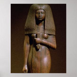 Tuyaの小像、分、Nのハーレムの頭部 ポスター