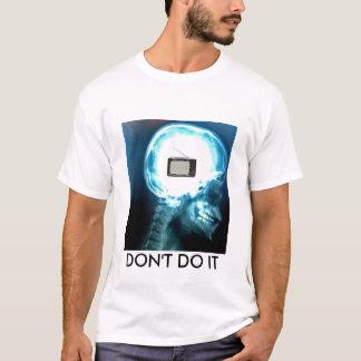 TVのテレビはそれをしません Tシャツ