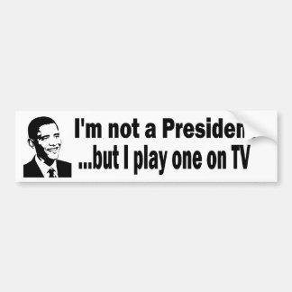 TVの大統領 バンパーステッカー