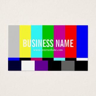 TVスペクトルのフィルムの編集者のビデオ生産 名刺